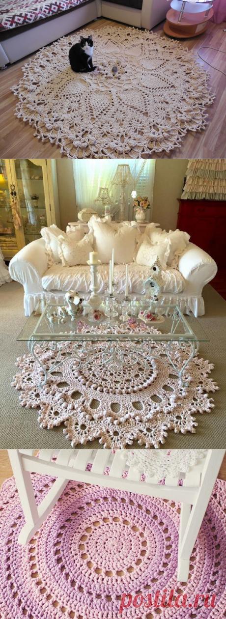 6 красивейших ковров своими руками