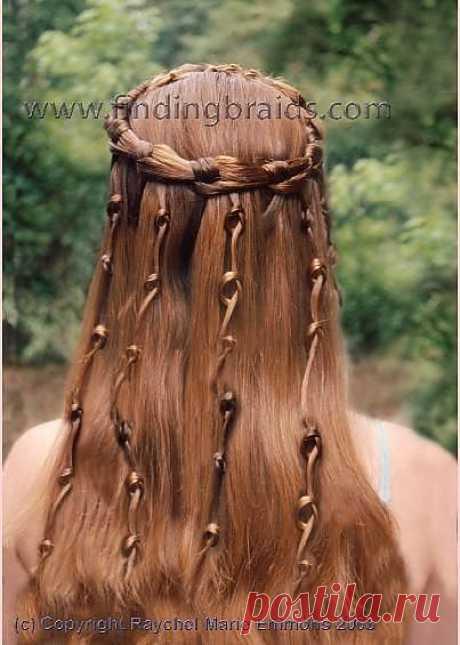 Узелки на волосах / Прически / ВТОРАЯ УЛИЦА