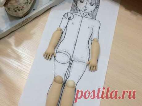 Как соблюсти пропорции в кукольной фигуре — лайфхак – мастер-класс для начинающих и профессионалов