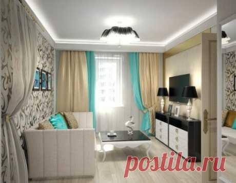 Дизайн однокомнатной квартиры в стиле ар-деко - Дизайн интерьеров | Идеи вашего дома | Lodgers