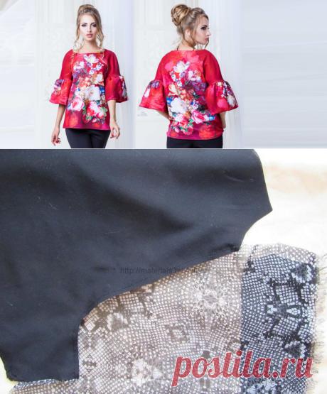 Выкройка блузки с рукавом реглан (36 фото): как сшить своими руками