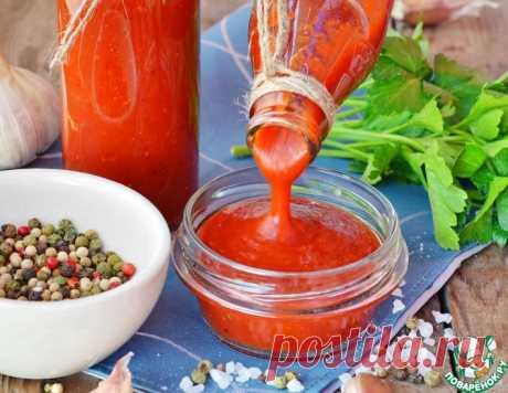 Домашний кетчуп из томатной пасты – кулинарный рецепт