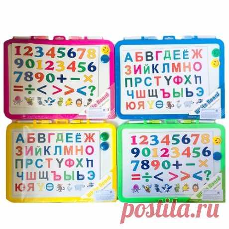 Доска магнитная BR-7117 + буквы (2маркера и 2магнита), 36*27см: купить в Минске оптом с рассрочкой платежа и бесплатной доставкой по Беларуси