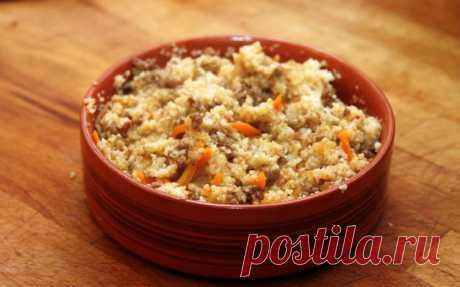 Пшеничная каша с грибами — Sloosh – кулинарные рецепты