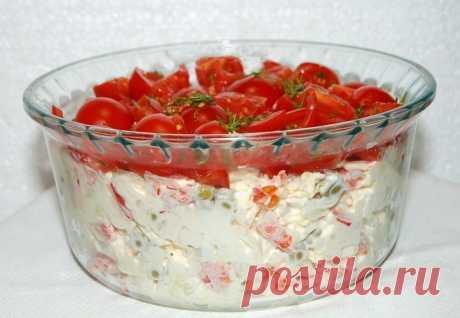 Лучшие кулинарные рецепты - Салат «Красная шапочка»
