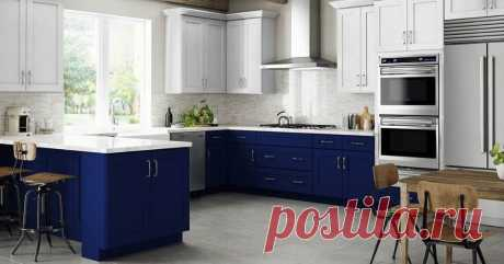 (4) Marketplace - White and Blue kitchen cabinets ! | Facebook
