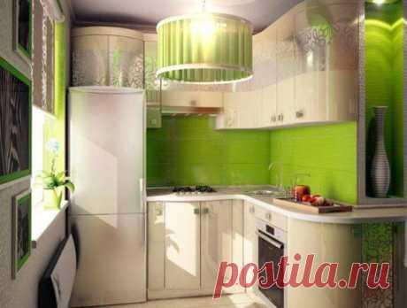 Дизайн малогабаритной кухни 5 кв. м в хрущевке: фото-идеи и варианты обустройства