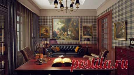 Английский интерьер в дизайне дома. Применение английского стиля