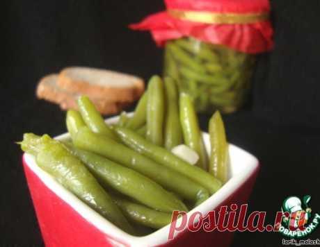 Маринованная стручковая фасоль – кулинарный рецепт