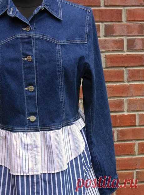 Переделки из джинсов: идеи, советы + мастер класс своими руками Блог о рукоделии, кулинарии, домоводстве, об интересном в сети,