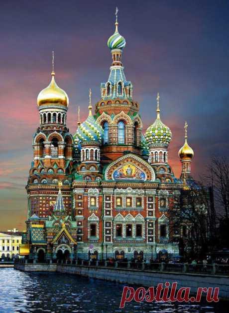 Дивные храмы России