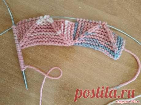 МК вязание пэчворк безотрыва нити по кругу (много фото) - Вязание - Страна Мам