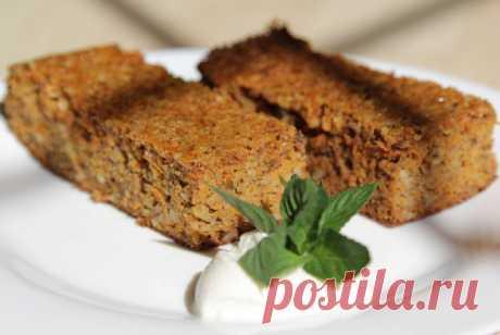 Морковный пирог с миндалем, пошаговый рецепт с фотографиями – детское меню: выпечка и десерты.