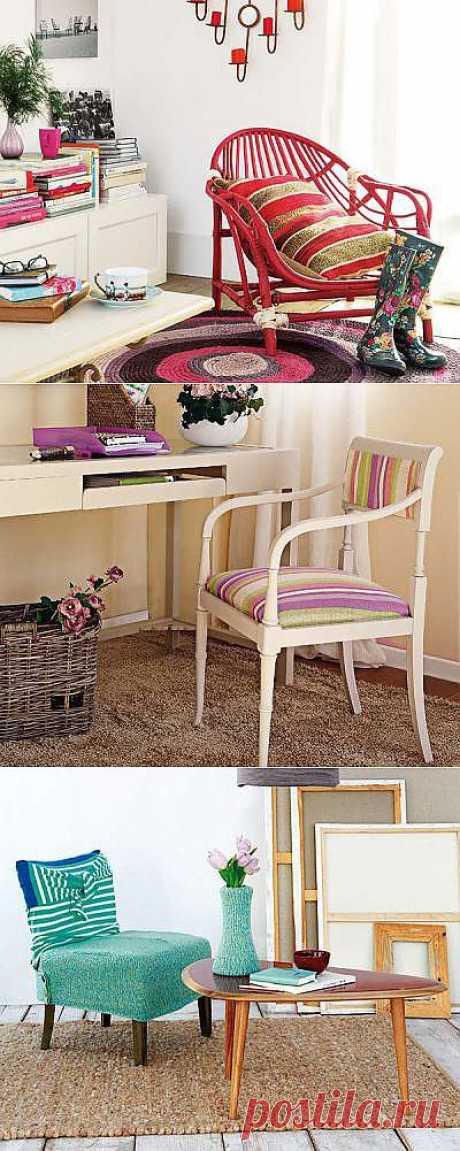 Обновление старого кресла: 3 мастер-класса для творчества своими руками | Дизайн-Ремонт.инфо. Фото интерьеров. Идеи для дома.