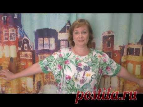 Цельнокроенное летнее платье оверсайз МК