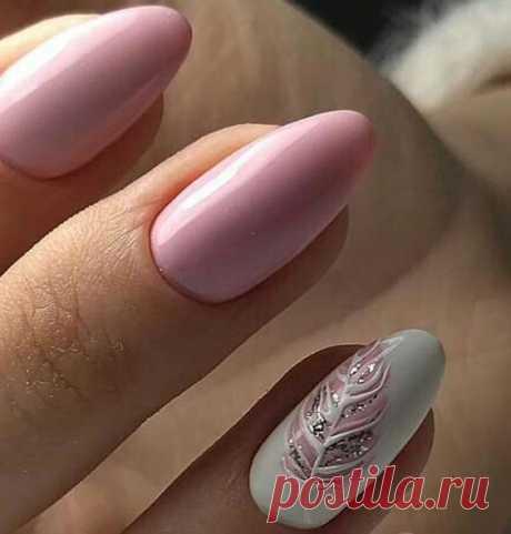 ✔️Весенний маникюр 2019 тренды: модные тенденции, самый красивый дизайн ногтей – фото