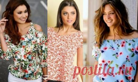 Большая подборка модных легких блузок с выкройками, которые можно сшить за пару часов! (Часть 1) Модные блузки налюбой вкус! Сегодня сложно представить себе модный образ современной женщины...