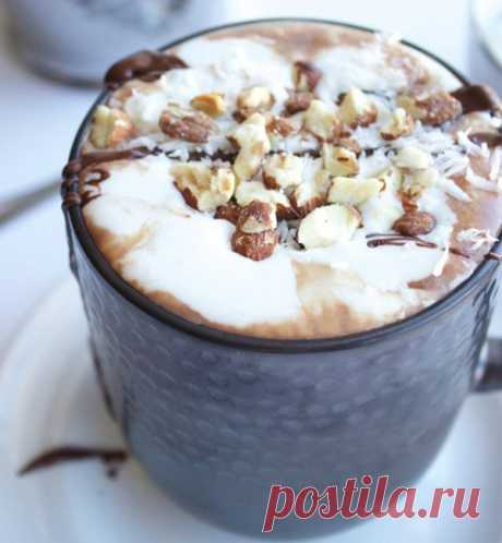 10 recipes of hot chocolate in house conditions: with pepper, from cocoa powder, from a nutella, dairy, white, with nuts