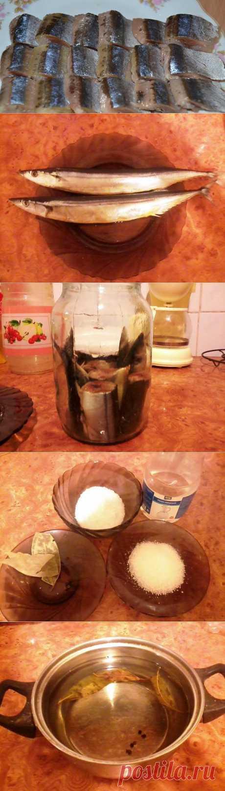 Соленая сайра в домашних условиях | КУЛИНАРОЧКА