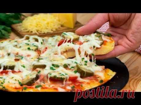 Немного фантазии и простое блюдо превратится в чудо! Аппетитная пицца за 5 минут! | Appetitno.TV