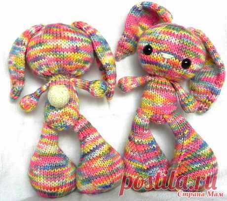 MK- Пасхальный кролик (BonBon) - Амигуруми - Страна Мам