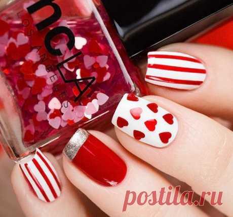 Влюблена до кончиков ногтей: 10 идей маникюра ко дню Святого Валентина