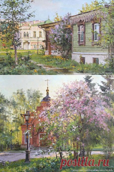 Пейзажи нашего двора