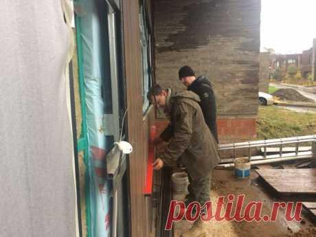 Контроль качества облицовки вентилируемого фасада HPL-панелями