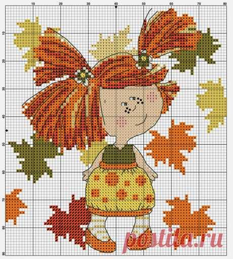Влюбленный в осень: более 50 схем вышивки крестом | Журнал Ярмарки Мастеров