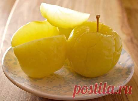 Tasty soaked apples in house conditions – simple recipes for everyone | Country kitchen (Огород.ru)