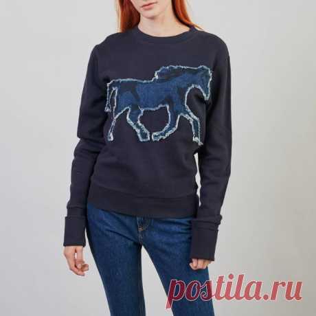 Свитшот See by Chloe с лошадью Модная одежда и дизайн интерьера своими руками