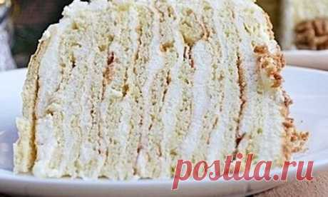 Потрясающе вкусный творожный торт