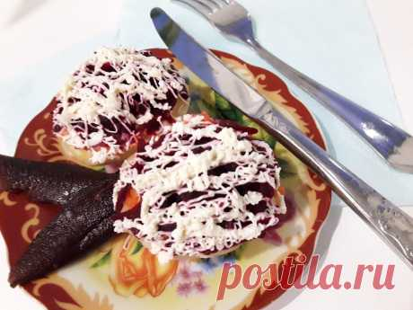 Селедка под шубой в новом образе рецепт с фото пошагово
