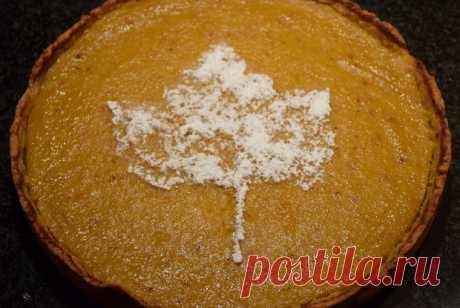Американский тыквенный пирог рецепт – американская кухня: выпечка и десерты