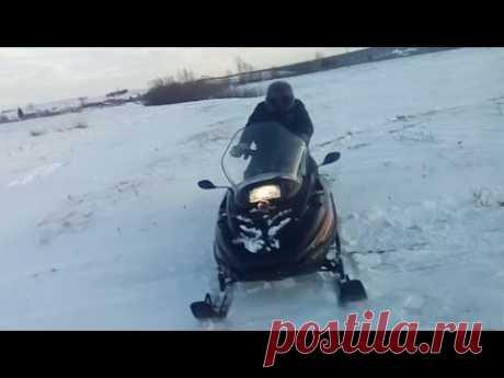 Перед разведкой по заброшкам, обкатываем снегоход!