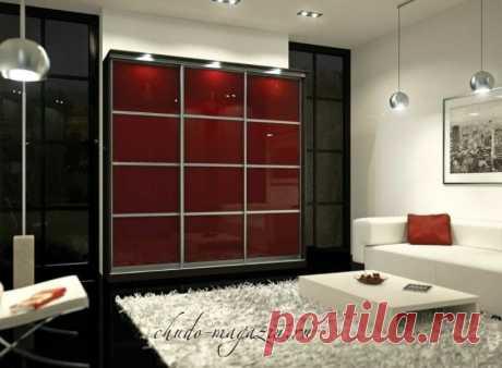 Красный шкаф купе в прихожую или гостиную комнату купить по цене 37 000 руб. в Москве— интернет магазин chudo-magazin.ru