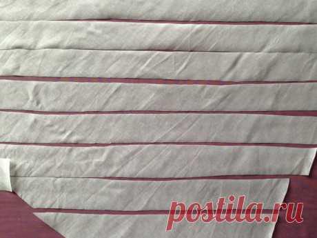 Как выкроить косую бейку из тонкой ткани — Мастер-классы на BurdaStyle.ru