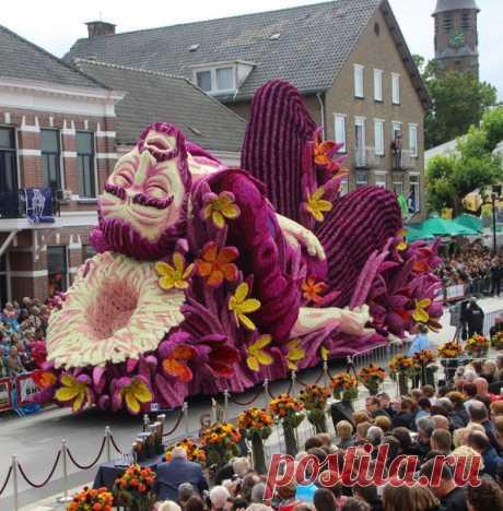 (4) Самый крупный в мире парад цветов в Голландии посвятили Ван Гогу: artassorti — ЖЖ