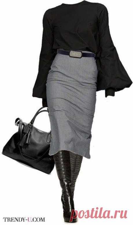 Модные юбки для зимних прохладных дней: выглядеть элегантно, в любую погоду, совсем не сложно