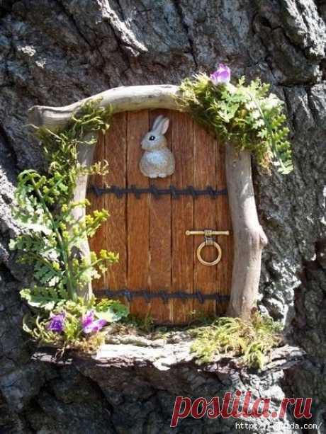 Красивый декор для вашего сада из пней
