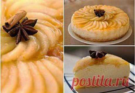 Торт Грушево-карамельный | Лучшие рецепты с фото