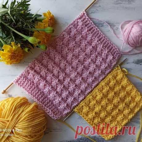 Симпатичный узорчик – подойдет для пуловера или свитера (Вязание спицами) – Журнал Вдохновение Рукодельницы