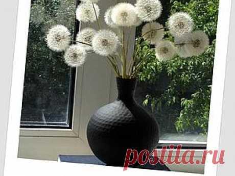 Воздушный букет из одуванчиков - Ярмарка Мастеров - ручная работа, handmade