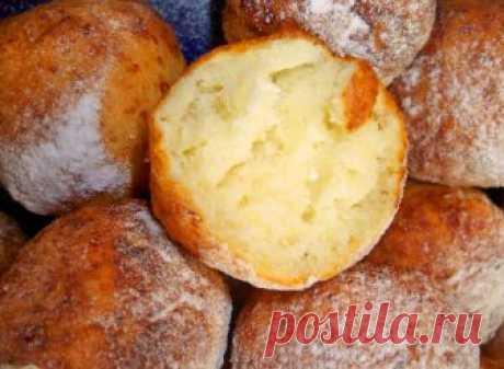 Творожные пончики за 10 минут. Просто объедение | Приятного аппетита! | Яндекс Дзен