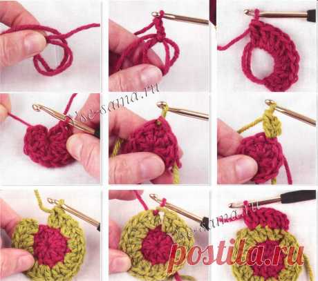 Очень полезная шпаргалка для вязания крючком