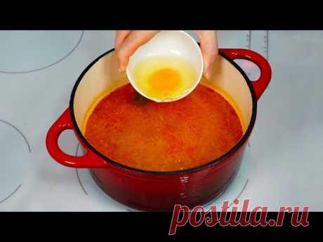 Венгерский яичный суп ДАЖЕ НЕ ПРЕДСТАВЛЯЛА, что такой существует! Готовлю ВПЕРВЫЕ!