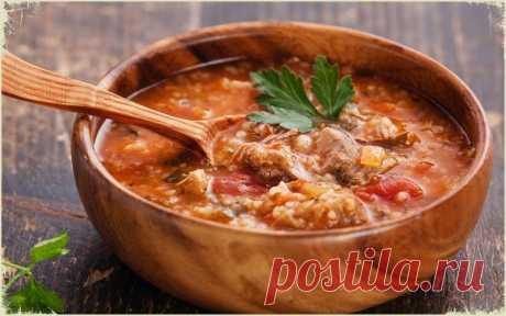 Наваристый, пряный грузинский суп Харчо. Никто не останется равнодушным! Самый правильный рецепт!