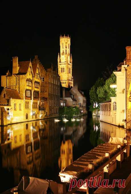 Ночной Брюгге - это вам не Прага и не Амстердам | Не галопом по Европам | Яндекс Дзен