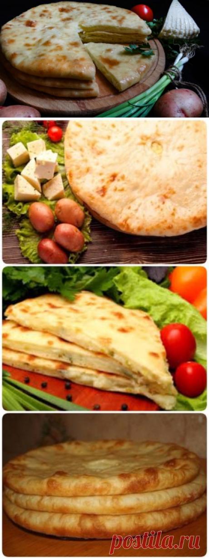 Картофджын. Осетинский пирог с сыром и картофелем. Просто и вкусно!