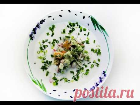 Вегетарианская окрошка - Эко рецепты со вкусом